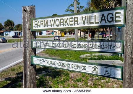 Florida Immokalee Farm Worker Village - Stock Photo
