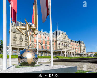 Palais Wilson, headquarters of the Office of the United Nations High Commissioner for Human Rights, OHCHR, Geneva, - Stock Photo