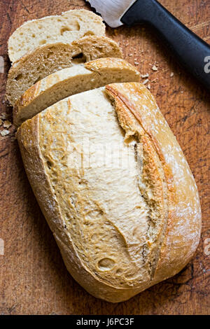 Sourdough loaf of bread - Stock Photo