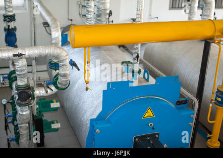 Industrial gas boiler & pipe work controls in major building Stock ...
