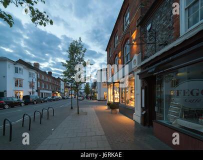 Marlow in Buckinghamshire, UK - Stock Photo