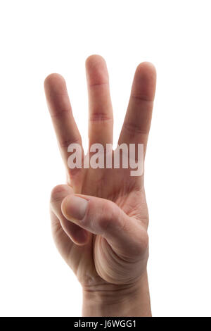 gesture humans human beings people folk persons human human being hand greeting - Stock Photo