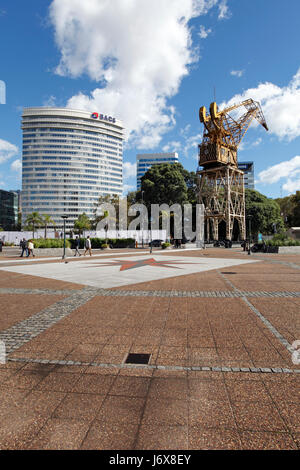 Downtown Buenos Aires, urban renewal and regeneration project in the old docklands area. - Stock Photo