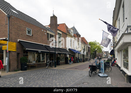 NAARDEN - NETHERLANDS - MAY 13, 2017: Naarden is a city and former municipality in the Gooi region in the province - Stock Photo