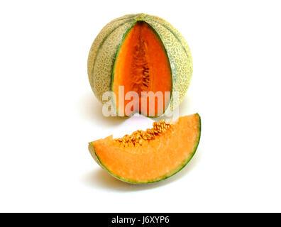 cantaloupe (cucumis melo var. cantalupensis)