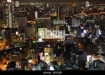 asia sight view outlook perspective vista panorama lookout skyline japanese - Stock Photo