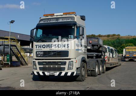 Volvo FH16 truck - Stock Photo
