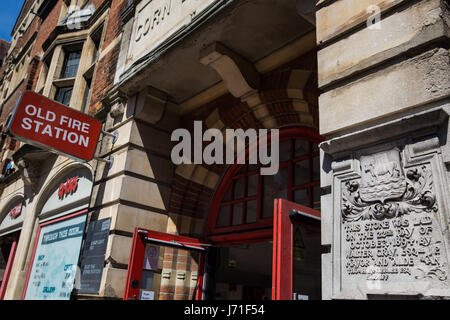 Oxford, UK. 22nd May, 2017. The Old Fire Station, where Radiohead played in their early days. Credit: Mark Kerrison/Alamy - Stock Photo