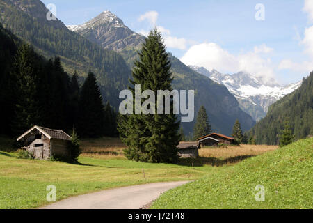 in hornbachtal in tirol-1 - Stock Photo