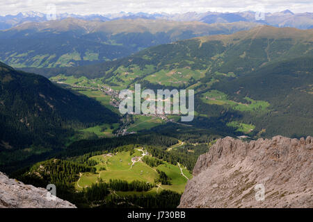 rotwandwiesen with rudi hut - Stock Photo