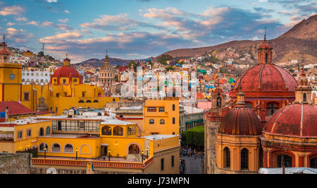 ------ Guanajuato is a city and municipality in central Mexico and the capital of the state of the same name. It - Stock Photo