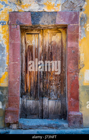San Miguel de Allende is a city and municipality located in the far eastern part of the state of Guanajuato in central - Stock Photo