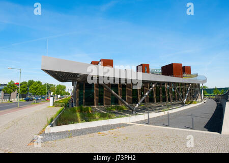Atos Building at Adlershof Science and Technology Park  Park in Berlin, Germany - Stock Photo