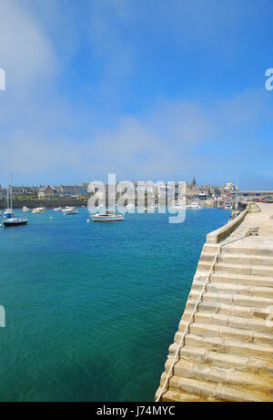 travel holiday vacation holidays vacations europe france brittany traveling - Stock Photo