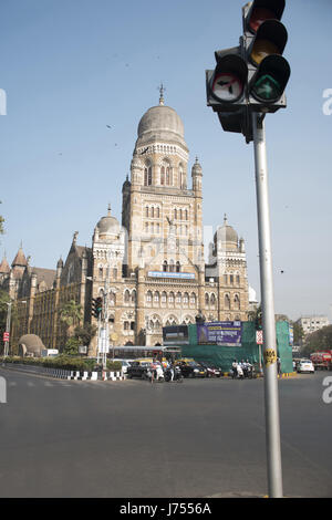 Municipal Corporation Building, Mumbai, India - Stock Photo