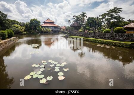 Holiday in Bali, Indonesia - Taman Ayun Temple or known as Pura Taman Ayun Mengwi - Stock Photo