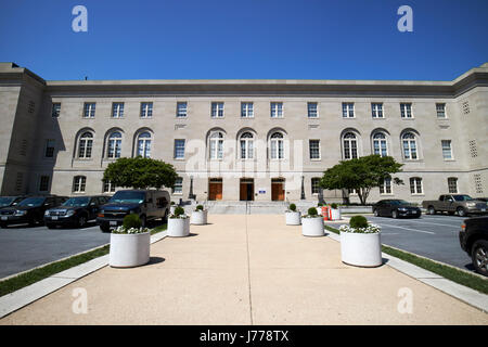 superior court of the district of columbia building b Washington judiciary square DC USA - Stock Photo