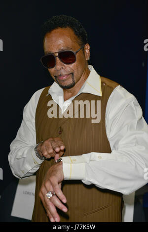 Fort Lauderdale, FL, USA. 23rd May, 2017. Morris Day poses for picture after a Unplugged Performance at the Recovery Unplugged Treatment Center on May 23, 2017 in Fort Lauderdale, Florida. Credit: Mpi10/Media Punch/Alamy Live News Stock Photo