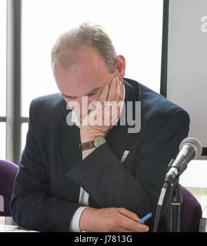 Ed Davey, Liberal Democrat Party Member of Parliament for Kingston and Surbiton Constituency. At hustings before - Stock Photo