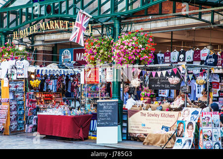 The Jubilee Market Hall in Covent Garden in London. - Stock Photo
