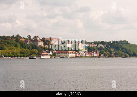 city town old town lake constance city view germany german federal republic - Stock Photo