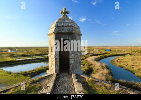France, Charente Maritime, Hiers Brouage, Citadel of Brouage, walls and turrets - Stock Photo