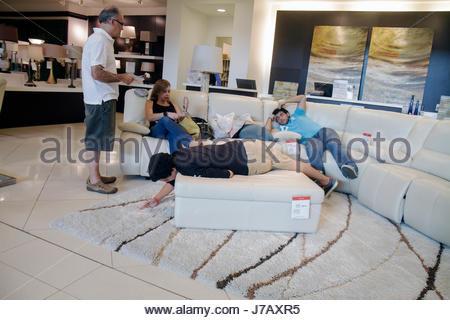 ... Miami Florida Aventura Mall Shopping Retail Display For Sale Fashion  Department Store Macyu0027s Furniture Sofa Family