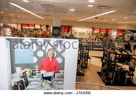 ... Miami Florida Aventura Mall Shopping Retail Display For Sale Fashion  Department Store Macyu0027s Martha Stewart Kitchen
