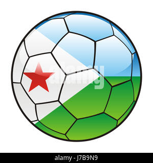 ball illustration flag vector sport sports soccer football sport sports - Stock Photo