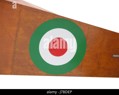 flag force italian country nation air strength europe vintage flag force - Stock Photo