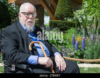Pop Artist, Peter Blake at the RHS Chelsea Flower Show 2017 - Stock Photo