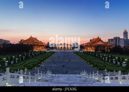 National Chiang Kai-shek Memorial Hall in Taipei Taiwan - Stock Photo