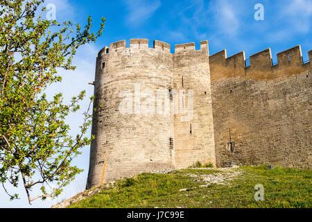 Le Fort Saint-André sur le Mont Andaon.Villeneuve-lès-Avignon Gard Paca France - Stock Photo