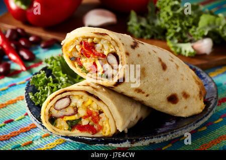 Mexican pancakes - Stock Photo