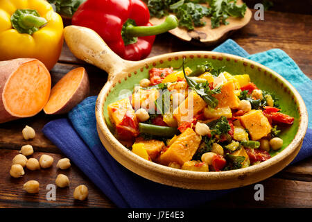 Sweet potato stew - Stock Photo