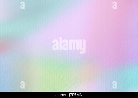 Abstract background on watercolor paper, trend Tender tones. For modern backdrop, wallpaper or banner design. Place - Stock Photo