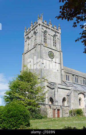 Christchurch Priory, Christchurch, Dorset, England, United Kingdom - Stock Photo