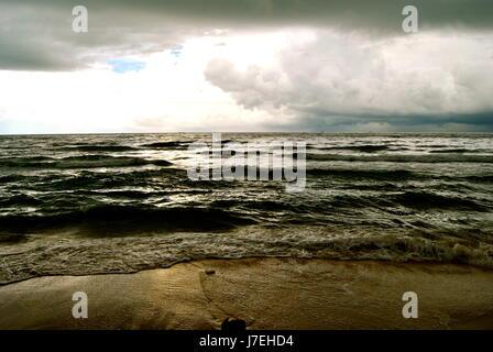 Monsoon season skies, Phu Quoc, Vietnam - Stock Photo