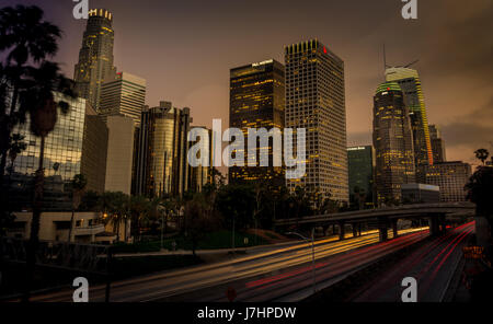 Downtown Los Angeles, CA USA - Stock Photo
