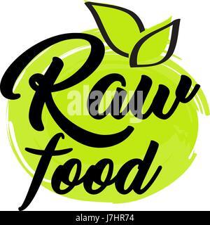 Organic and vegan logo labels - Stock Photo