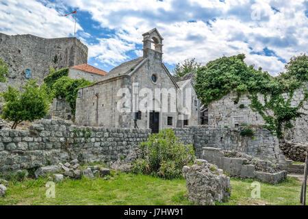 In the ruins of Stari Bar, Montenegro - Stock Photo