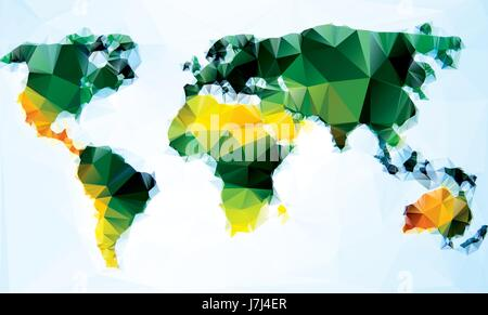 Triangle world map vector illustration stylize world map triangle world map vector illustration stylize world map technology concept stock photo gumiabroncs Images