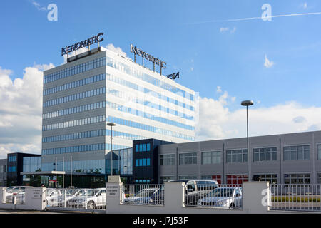 Novomatic Austrian Gaming Industries headquarters, Gumpoldskirchen, Wienerwald, Vienna Woods, Niederösterreich, - Stock Photo