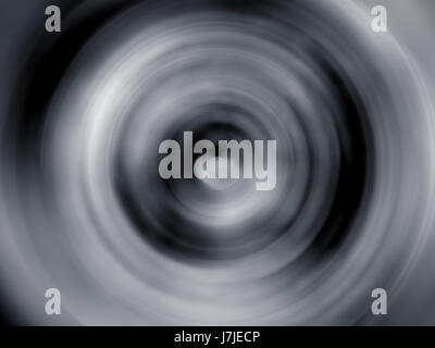 Abstract vortex background in black and white - Stock Photo