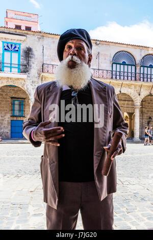 Cuban man with cigar, Cuban man cigar, Cuba man cigar, man with cigar, man cigar, Havana man cigar, man cigar, man - Stock Photo