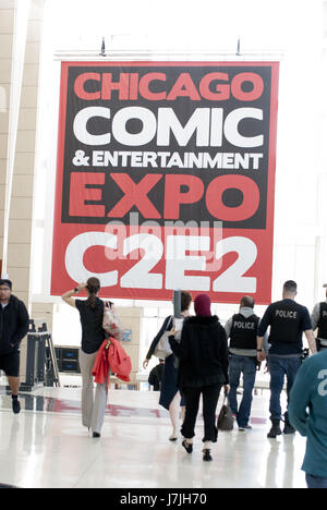 Chicago Comic and Entertainment Expo 2017 (C2E2) at McCormick Place, Chicago, IL, USA on September 23, 2017  Featuring: - Stock Photo