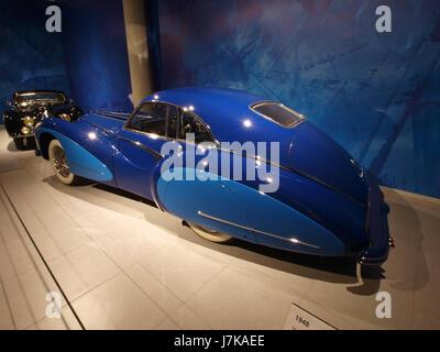 1948 Talbot Lago T26 Grand Sport Coupe Saoutchik p2 - Stock Photo