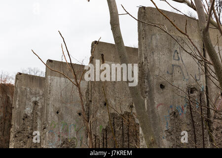 The Berlin wall - Stock Photo
