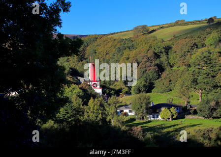Great Laxey Wheel (Lady Isabella), Isle of Man - Stock Photo