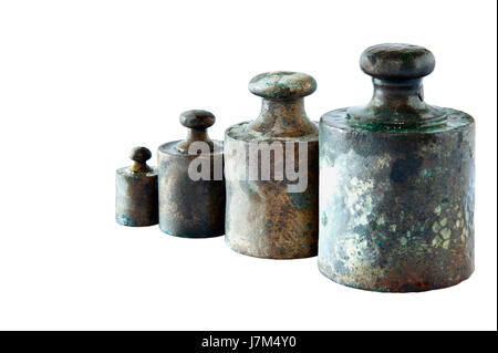isolated load weigh weight kilogram gram old retail shop shop department store - Stock Photo